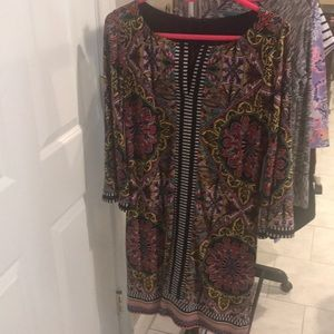 NEW 3/4 Inch Sleeve Laundry By Shelli Segal Dress